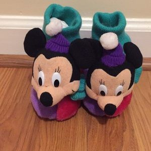 Vintage 80's/90's Disney Minnie Mouse Slippers